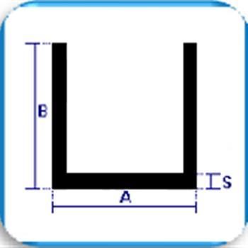 aluminium u profiles equal sections aluminium u profiles equal