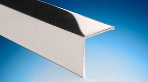 Aluminium Profile Chrome Effect